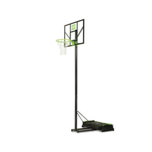 Load image into Gallery viewer, EXIT Comet portable basketball backboard - green/black