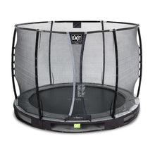 Load image into Gallery viewer, EXIT Elegant Premium ground trampoline ø427cm with Deluxe safety net
