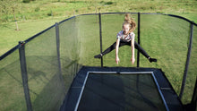 Load image into Gallery viewer, EXIT PeakPro trampoline 244x427cm, 275x458cm, 305x518cm - black