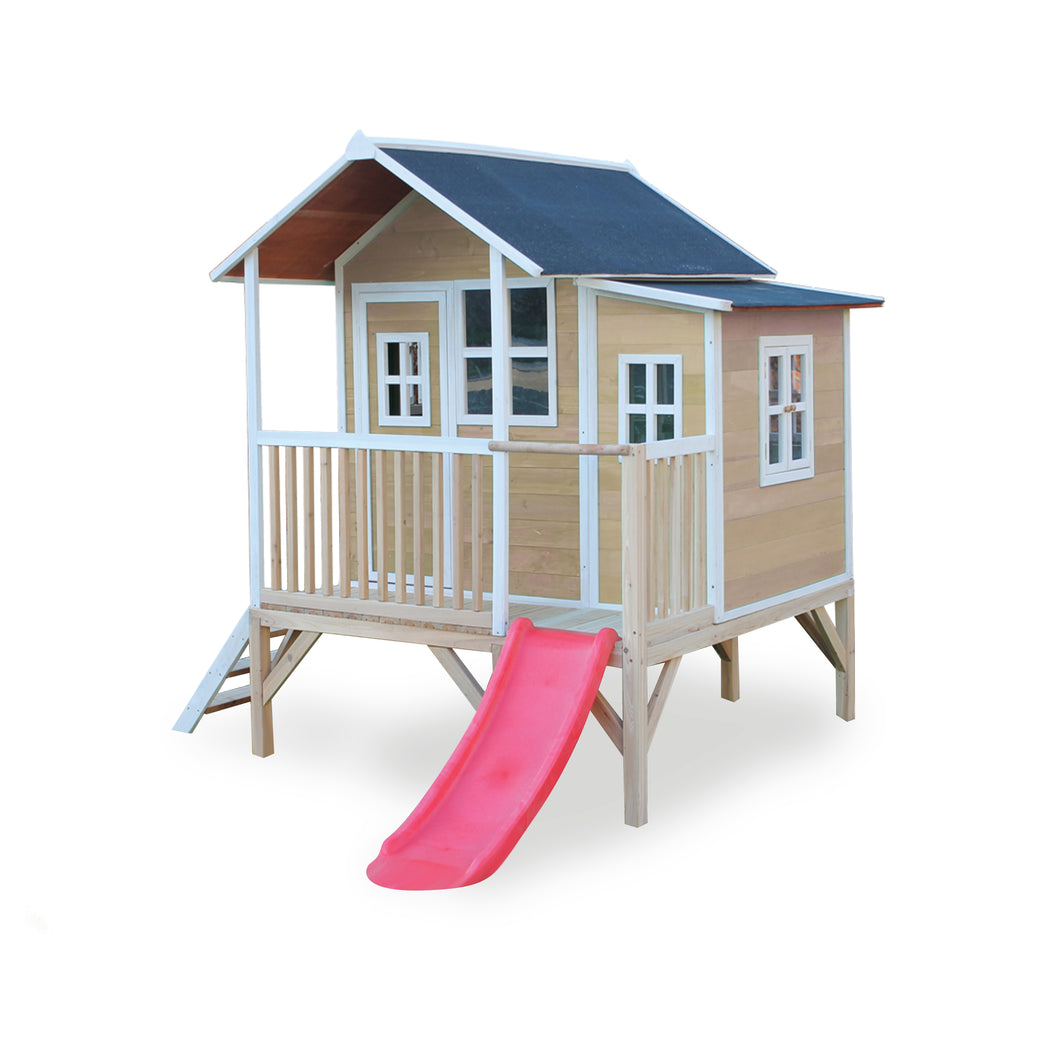 EXIT Loft 350 wooden playhouse