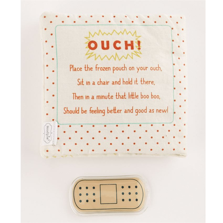 OUCH POUCH PLUSH BOOK