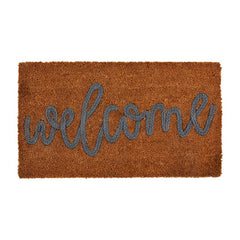 WELCOME COIR APPLIQUE MAT