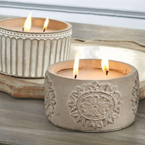 CONCRETE CITRONELLA CANDLES