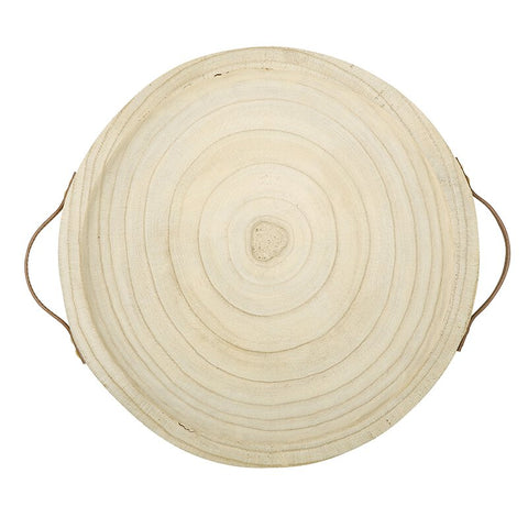 TABLE SUGAR PAULOWNIA HANDLE TRAY