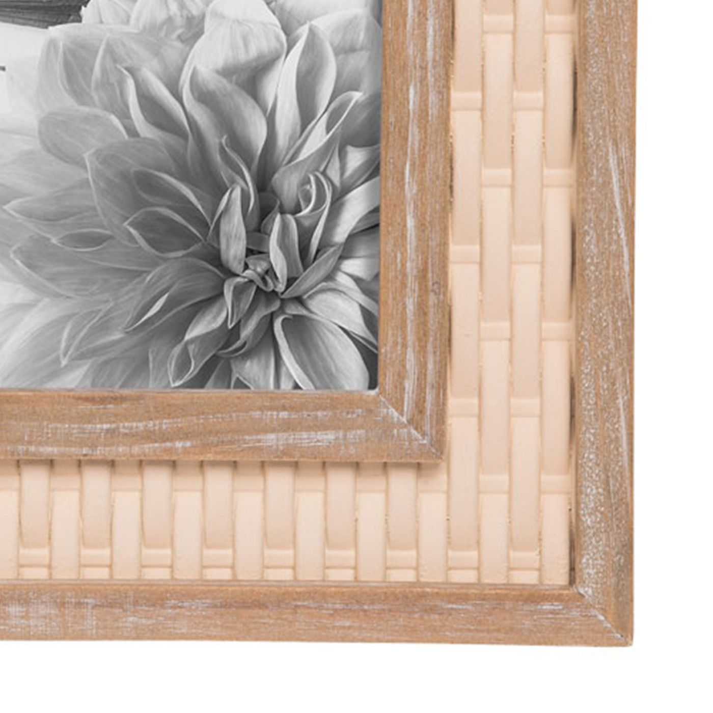 Wood Woven Photo Frame 5x7