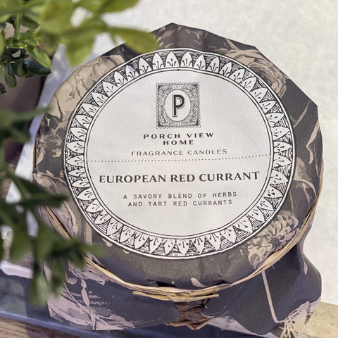 EUROPEAN RED CURRANT CANDLE