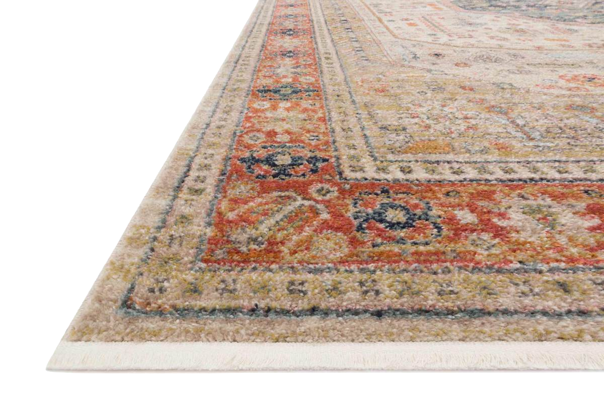 GRAHAM - PERSIMMON/ANTIQUE IVORY RUG (NEW!)