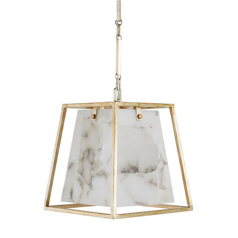 STACEY CHANDELIER - CHAMPANGE SILVER