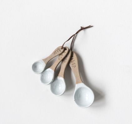 CERAMIC MEASURING SPOON SET