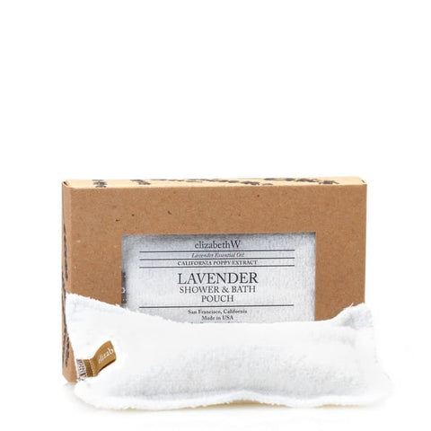 LAVENDER EXFOLIATING POUCH