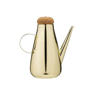 STAINLESS STEEL OIL CRUET GOLD FINISH