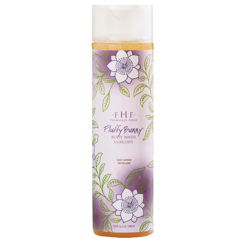 FLUFFY BUNNY - BODY WASH & BUBBLE BATH