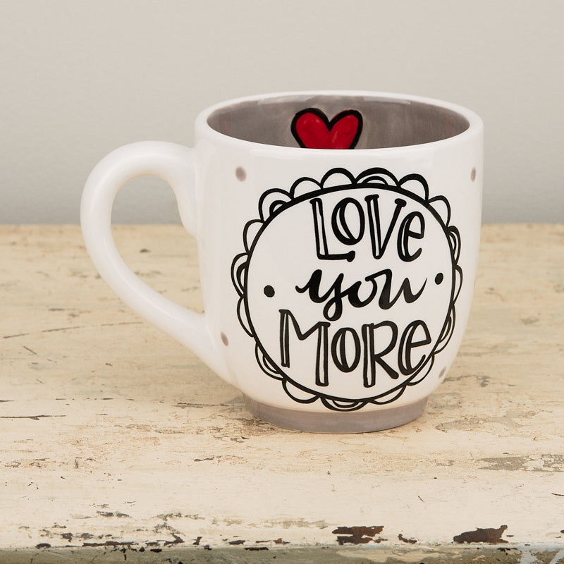 Love You More Jumbo Mug