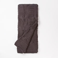 MICAH KNITTED THROW