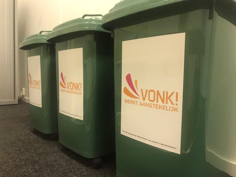 Recycle container VONK!