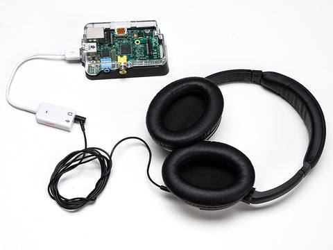 USB Audio Adapter - For Raspberry Pi or Banana Pi