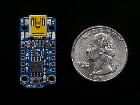 Adafruit Trinket - Mini Microcontroller - 5V Logic
