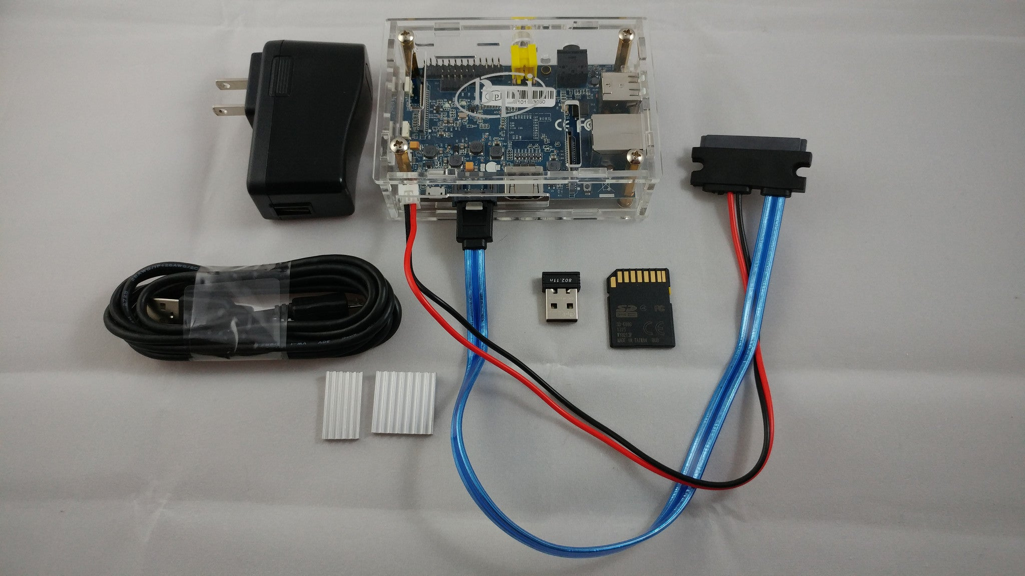 Banana Pi TinyOne Model G2 -Complete System with Linux disk - Assembled and tested (BPI-M1 board)