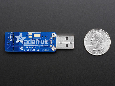 Bluefruit LE Friend - Bluetooth Low Energy (BLE 4.0) - nRF51822 - v1.0 by Adafruit