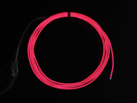 EL wire starter pack - Pink 2.5 meter (8.2 ft) from Adafruit Industries