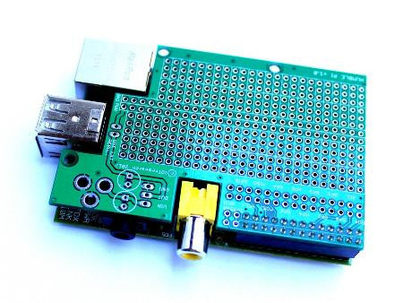 Humble Pi Prototyping Board for Raspberry Pi Model A - B - B+ Also works with the Banana Pi