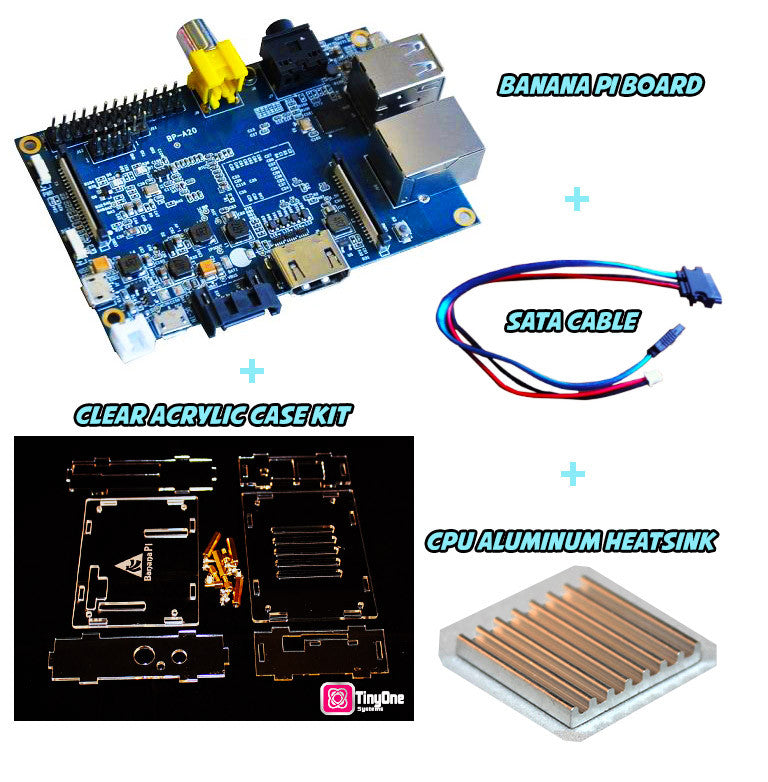 Banana Pi Starter Pack (Basic)- Includes a Banana Pi