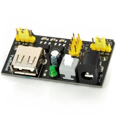 MB-102 Breadboard Power Supply  - It does NOT include breadboard