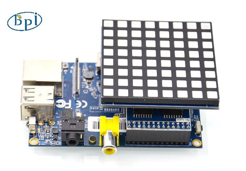 Banana Pi 8x8 RGB LED Matrix -