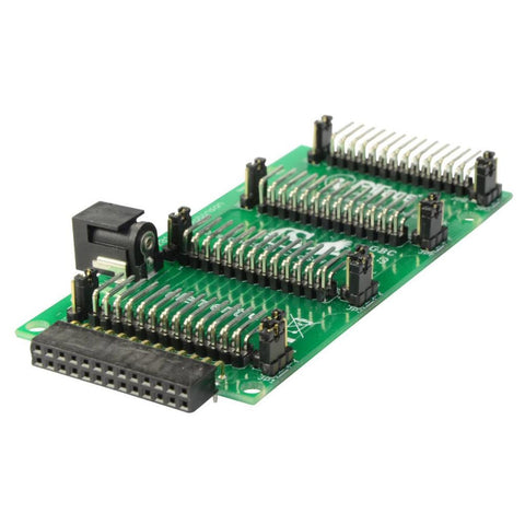 Pi Rack Accessory board for Raspberry Pi - A, B and B+ will also work with Banana Pi -