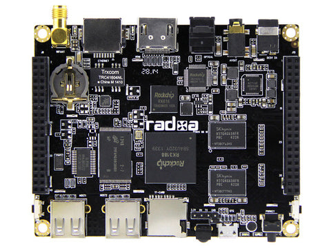 Radxa Rock Pro Single Board Computer Kit pre-loaded with Android- Latest Revision Mid 2014 -