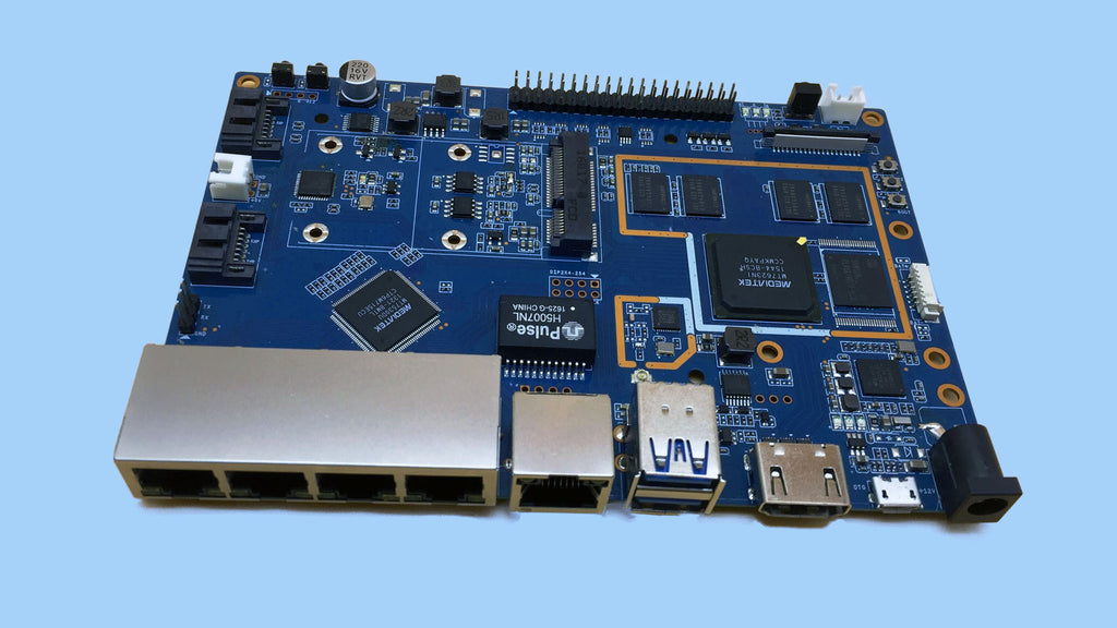 Banana Pi BPI-R2 Open Source Router board