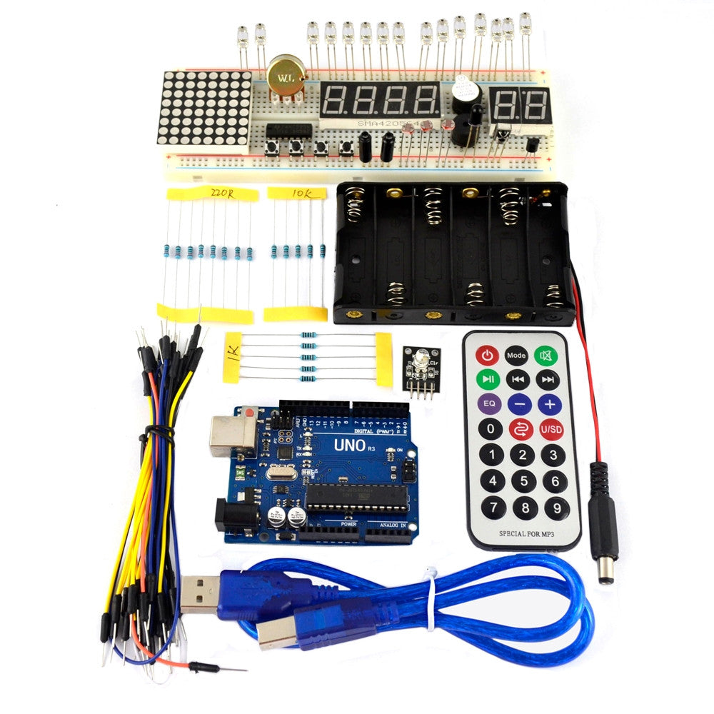 Arduino Uno R3 Compatible Basic Starter Kit