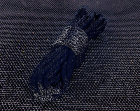 "Coal Black MFP Bondage Rope 1/4"" 6mm"