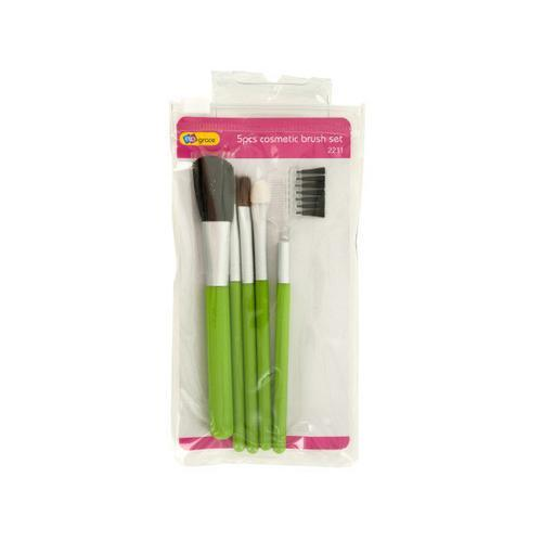 Travel Cosmetic Brush Set ( Case of 24 )
