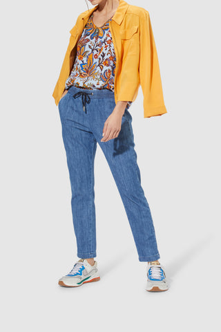 Hose Light denim pants