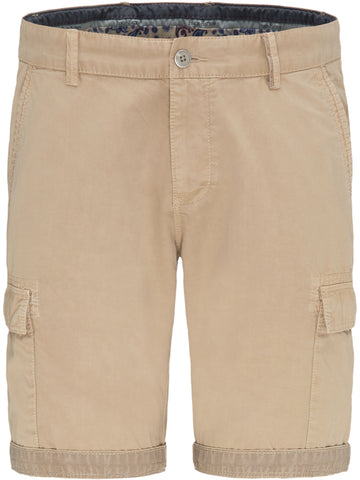 Cargo Shorts, Cotton, Garment Dyed