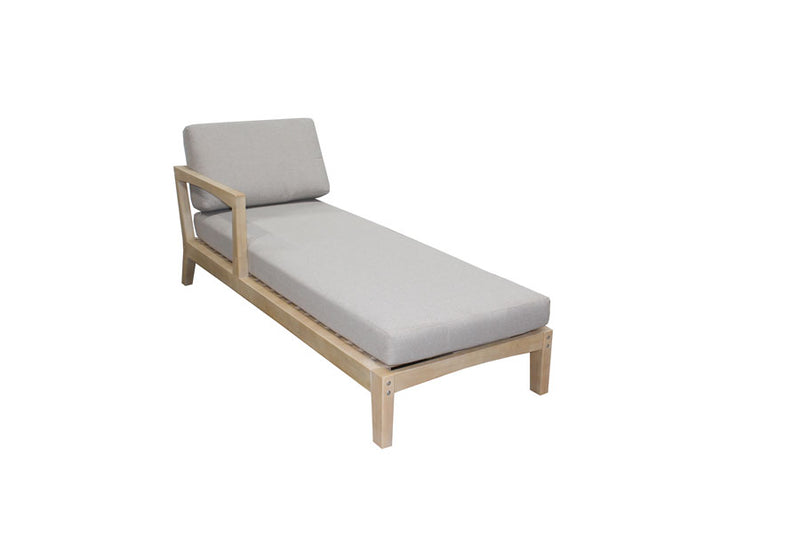 Aria Double Chaise Lounge with Cushion