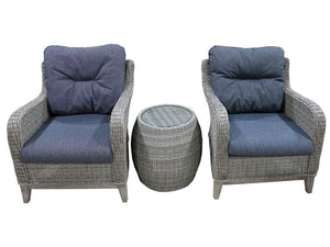 Bolsena 3pc setting - robcousens Outdoor Furniture Factory direct