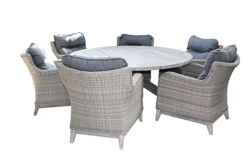 Bolsena Lounge 7pc Round setting