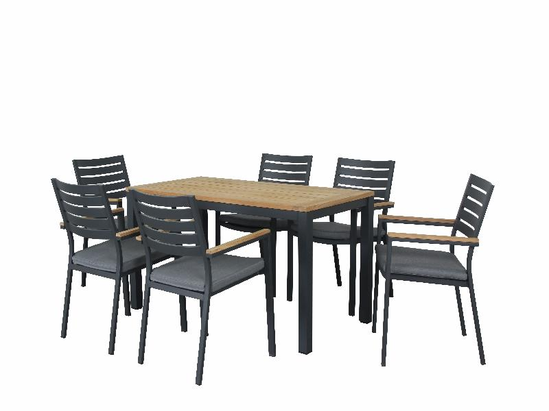 Santos 7pc Dining Sets - robcousens Outdoor Furniture Factory direct
