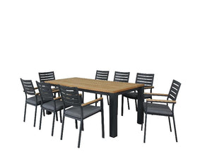 Clay 9pc Dining sets - robcousens Outdoor Furniture Factory direct