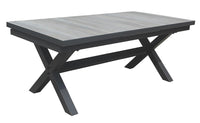 San Remo Cushion 9pc Extension Ceramic Table set - robcousens Outdoor Furniture Factory direct