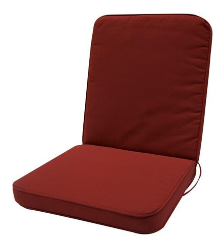 High back cushion