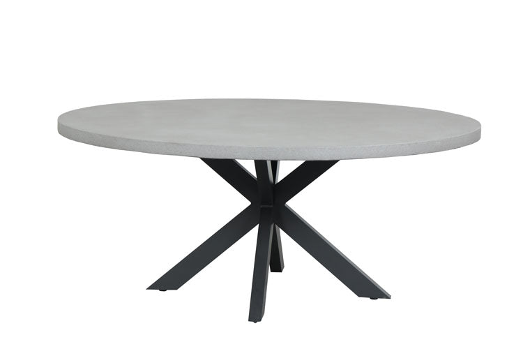 Manhattan Cement Dining Table 1700 Round