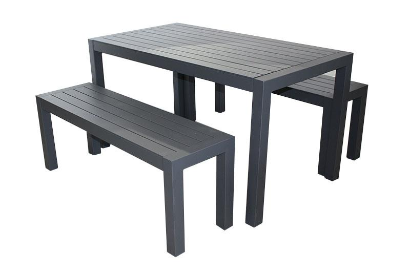 Portsea 3pc Bench set - robcousens Outdoor Furniture Factory direct