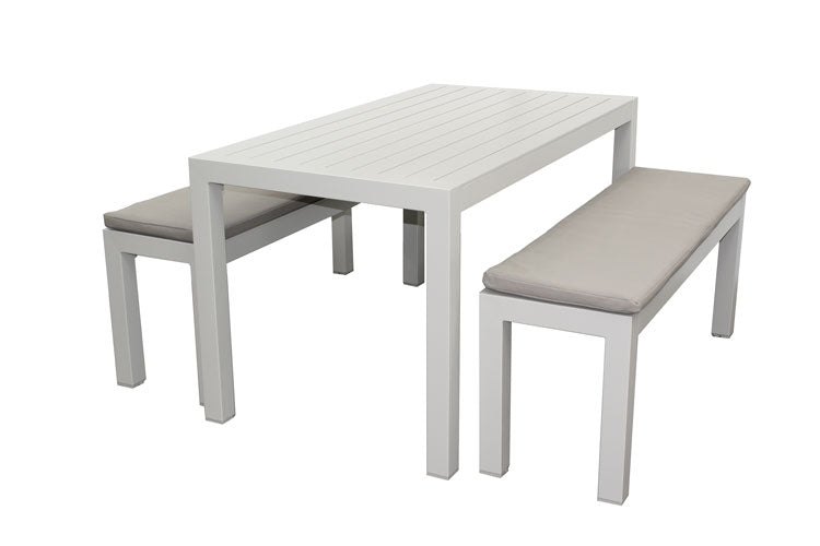 Portsea 3pc Bench set with Cushions