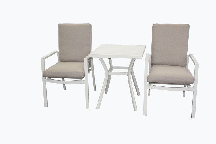 San Remo 3pc Cushion Bistro set