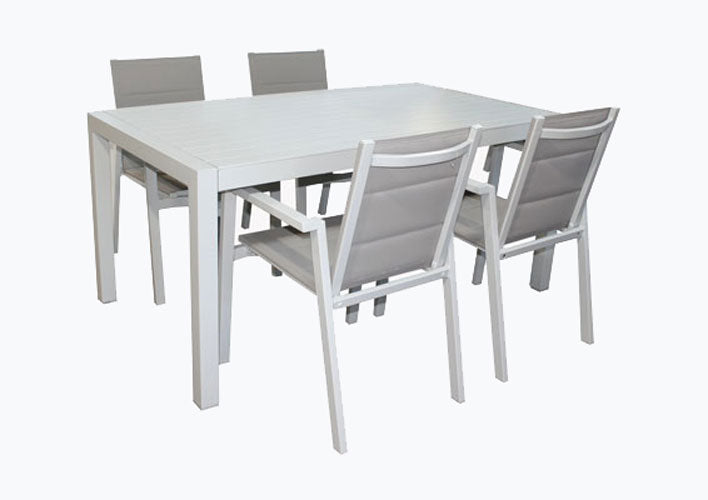 San Remo Sling Portsea 5pc  DOVE GREY 1400 x 700mm