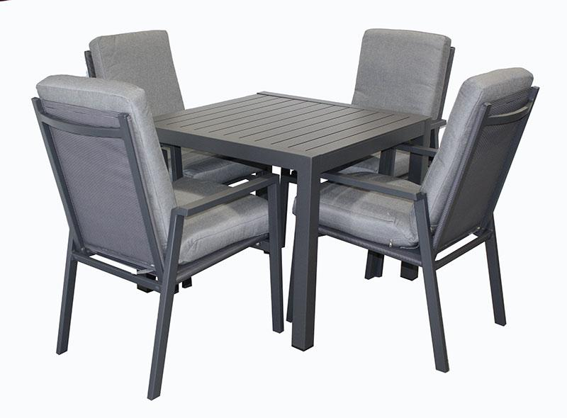 San Remo 5pc Sq. Cushion set - robcousens Outdoor Furniture Factory direct