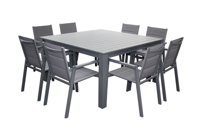 San Remo Sling 9pc Square Set - Gunmetal